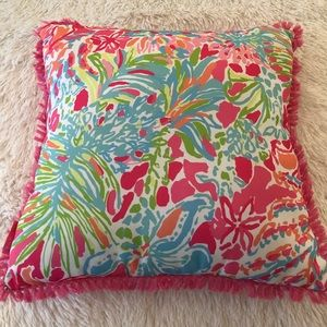 Lilly Pulitzer Indoor/Outdoor Throw Pillow